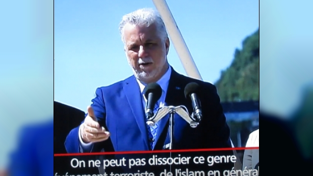 Quebec Premier Couillard: Terrorism Can't Be Disconnected From Islam